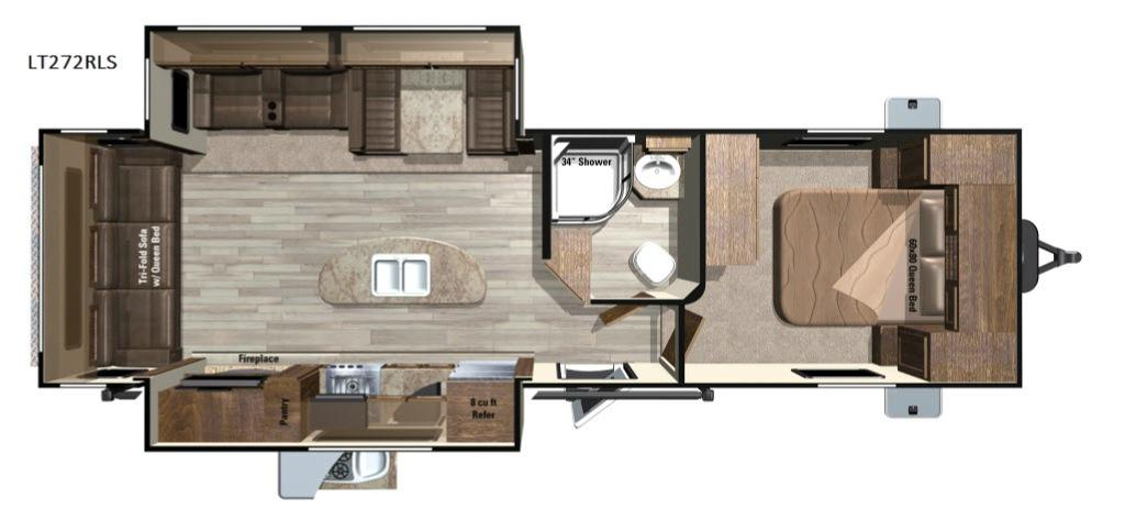 Open Range Light LT272RLS Floorplan Image