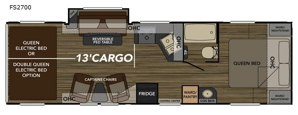 Widebody FS2700 Floorplan Image