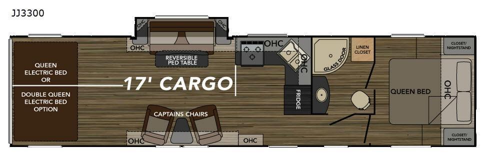 Widebody JJ3300 Floorplan Image
