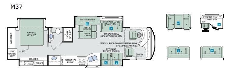 Venetian M37 Floorplan Image