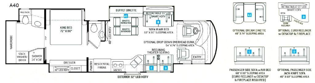 Venetian A40 Floorplan Image