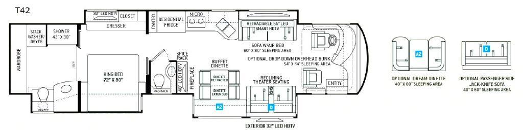Venetian T42 Floorplan Image
