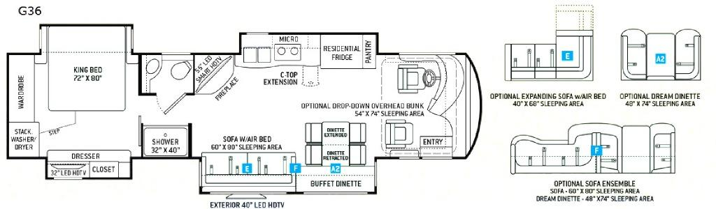 Venetian G36 Floorplan Image