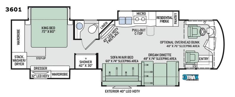 Aria 3601 Floorplan Image