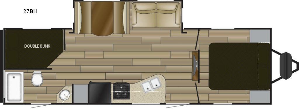 Radiance Ultra Lite 27BH Floorplan Image