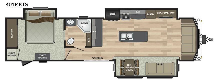 Residence Signature Series 401MKTS Floorplan Image