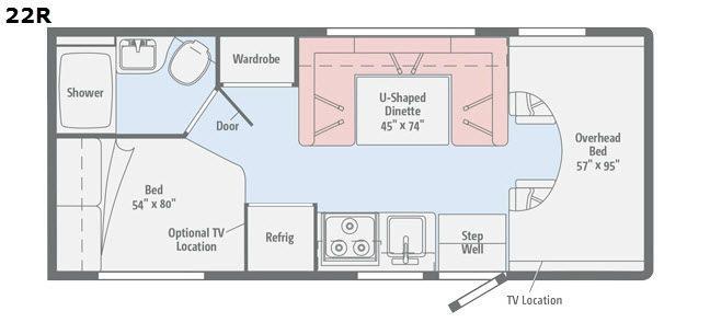 Spirit 22R Floorplan Image