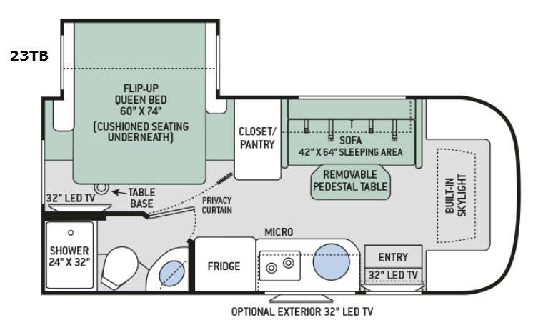 Gemini 23TB Floorplan Image
