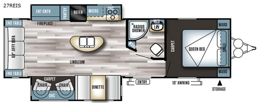 Salem 27REIS Floorplan Image