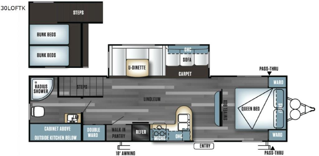 Salem 30LOFTK Floorplan Image