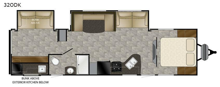 Trail Runner 32ODK Floorplan Image