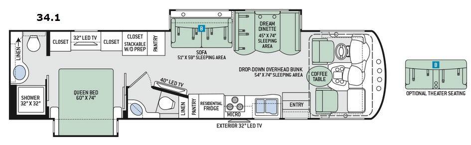 Miramar 34.1 Floorplan Image