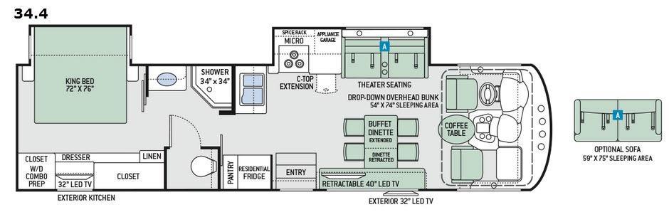 Miramar 34.4 Floorplan Image