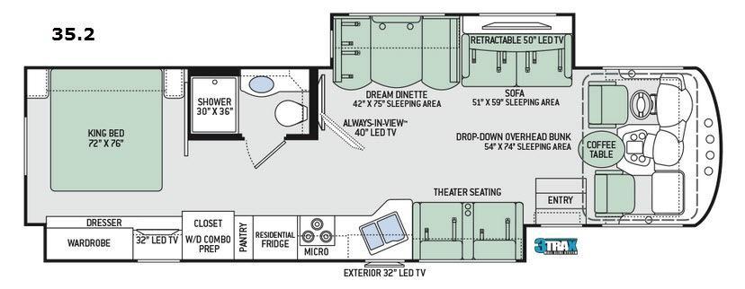 Miramar 35.2 Floorplan Image