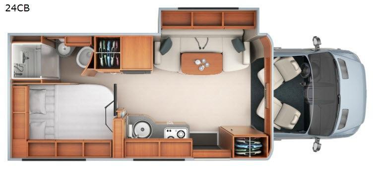 Unity U24CB Floorplan Image