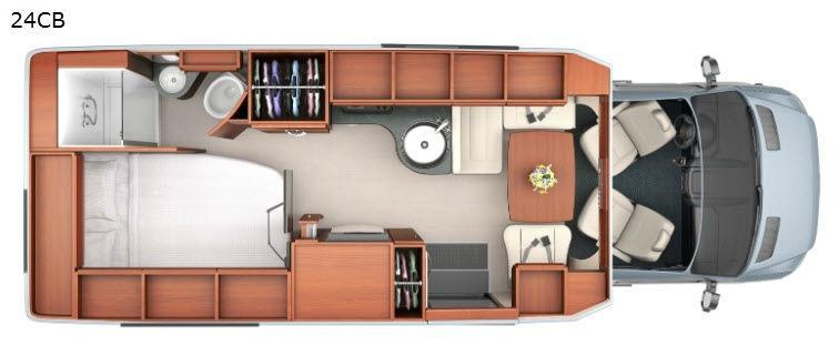 Serenity 24CB Floorplan Image