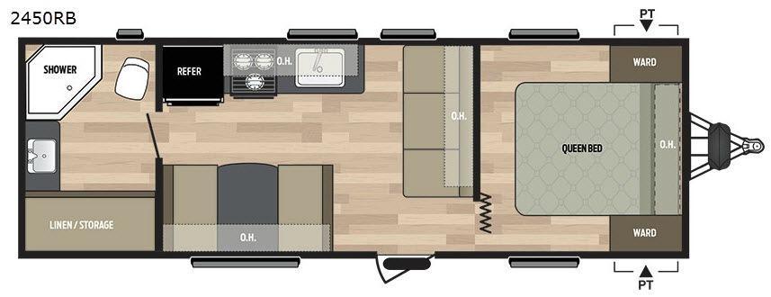 Summerland 2450RB Floorplan Image