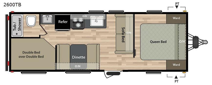 Summerland 2600TB Floorplan Image