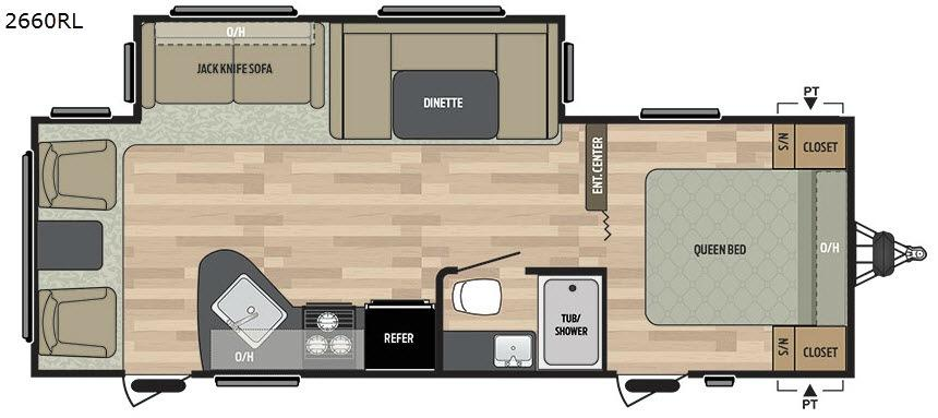 Summerland 2660RL Floorplan Image