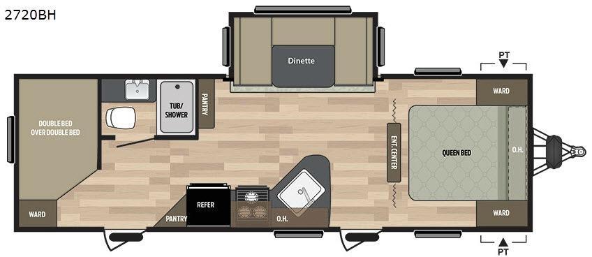 Summerland 2720BH Floorplan Image