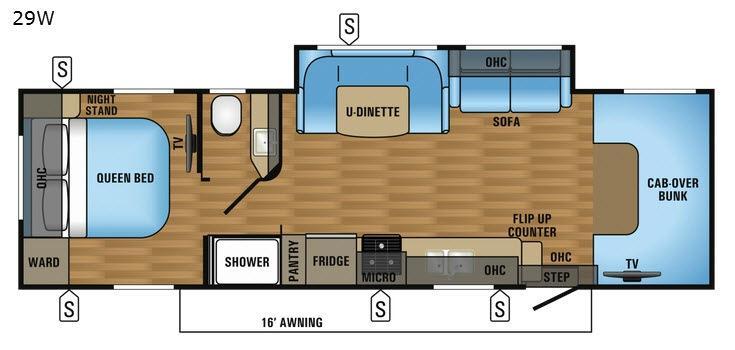 Greyhawk 29W Floorplan Image