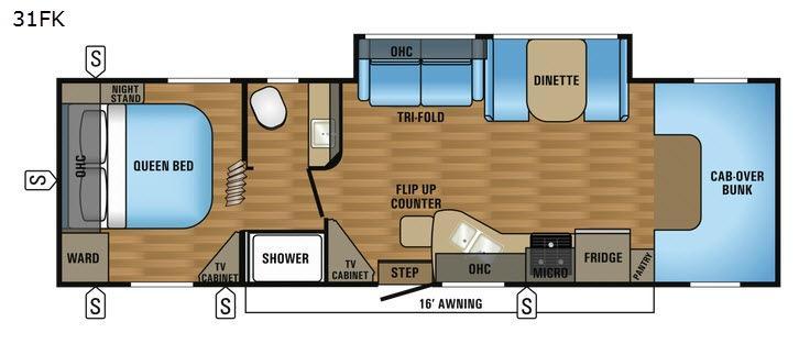 Greyhawk 31FK Floorplan Image
