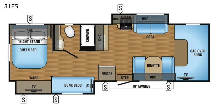 Greyhawk 31FS Floorplan Image