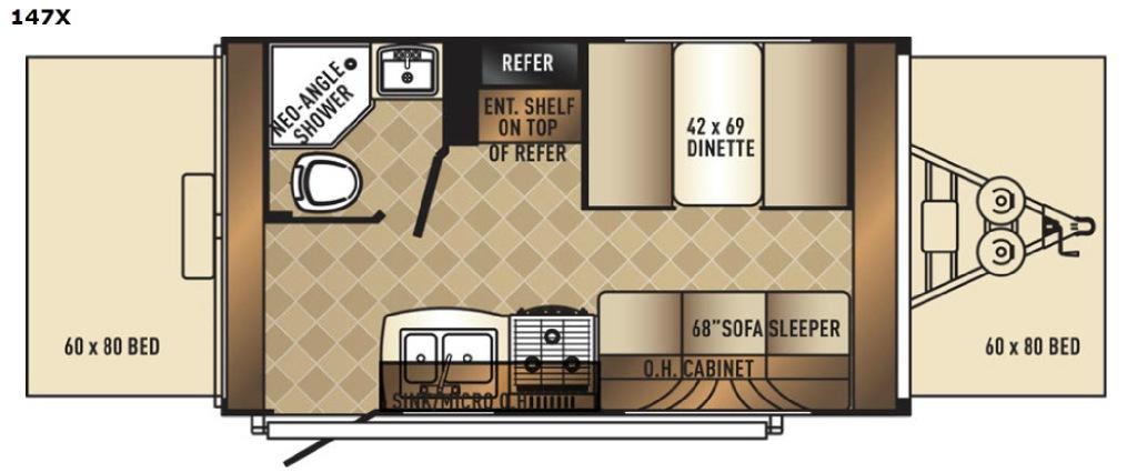 SolAire 147 X Floorplan Image