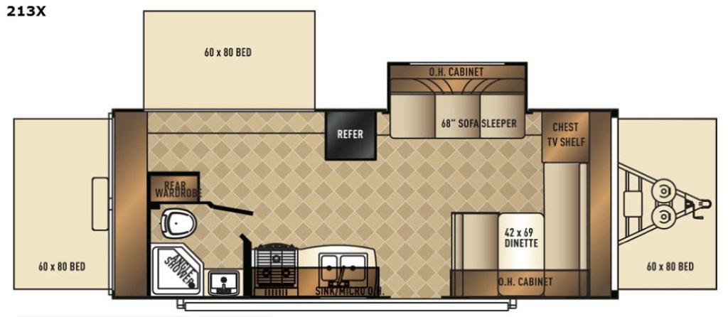 SolAire 213 X Floorplan Image