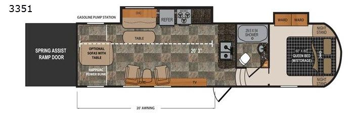 Triton 3351 Floorplan Image