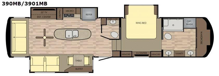 Redwood 3901MB Floorplan Image