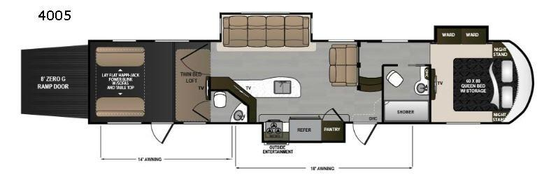 Voltage V4005 Floorplan Image
