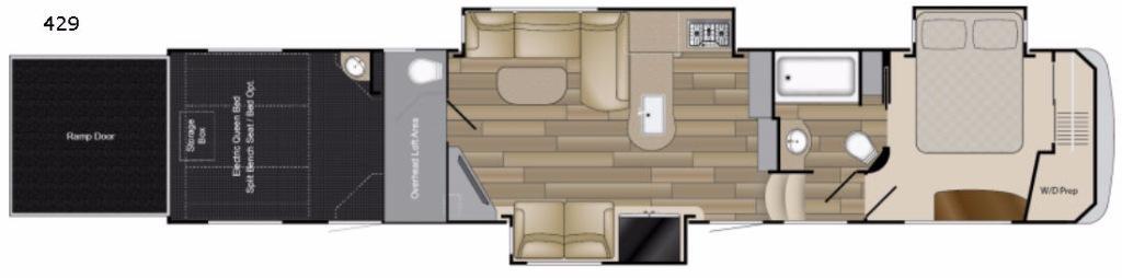 Road Warrior 429 Floorplan Image
