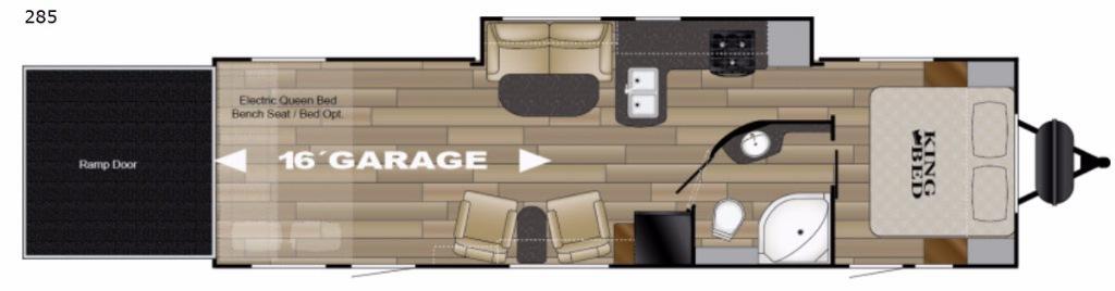 Torque XLT TQ T285 Floorplan Image