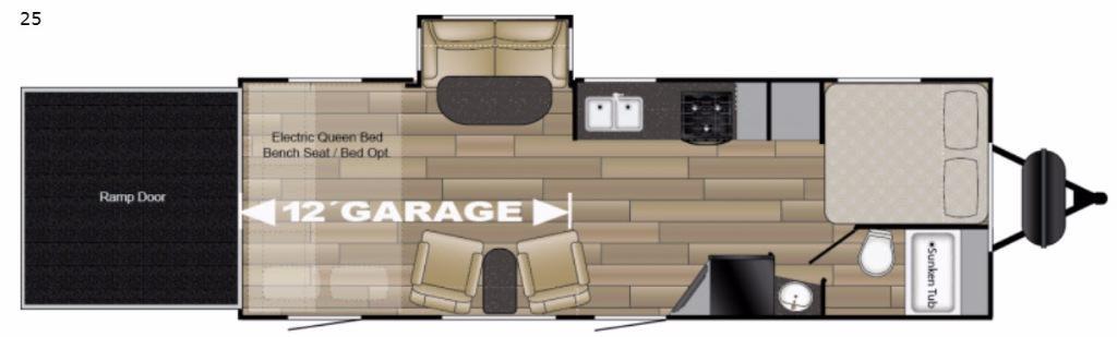 Torque XLT TQ T25 Floorplan Image