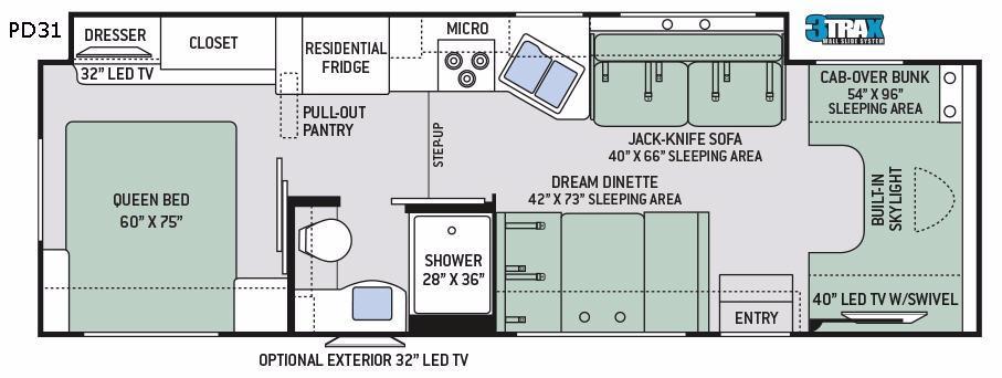 Quantum PD31 Floorplan Image