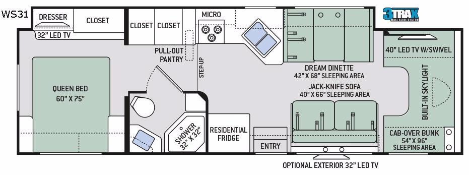 Quantum WS31 Floorplan Image