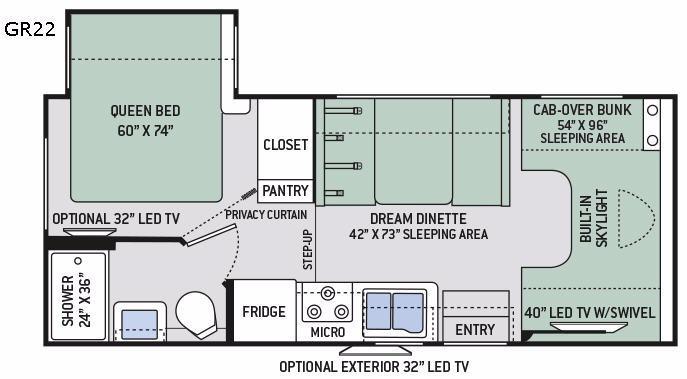 Quantum GR22 Floorplan Image