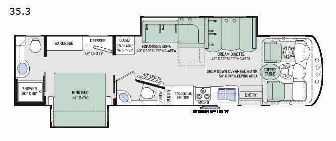 Miramar 35.3 Floorplan Image