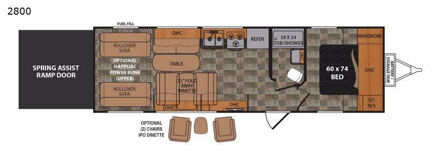 Rubicon 2800 Floorplan Image