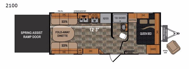 Rubicon 2100 Floorplan Image