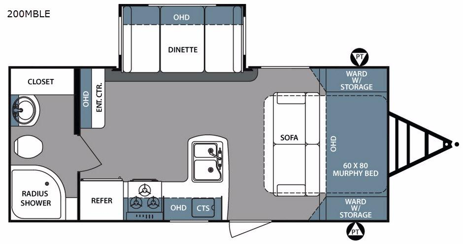 Surveyor 200MBLE Floorplan Image