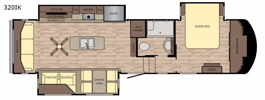 Volante 320IK Floorplan Image