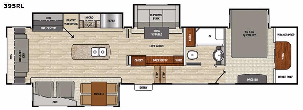 Brookstone 395RL Floorplan Image