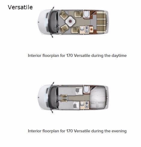 Versatile 170 Floorplan Image