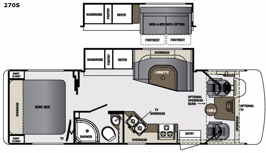 Georgetown 270S Floorplan Image