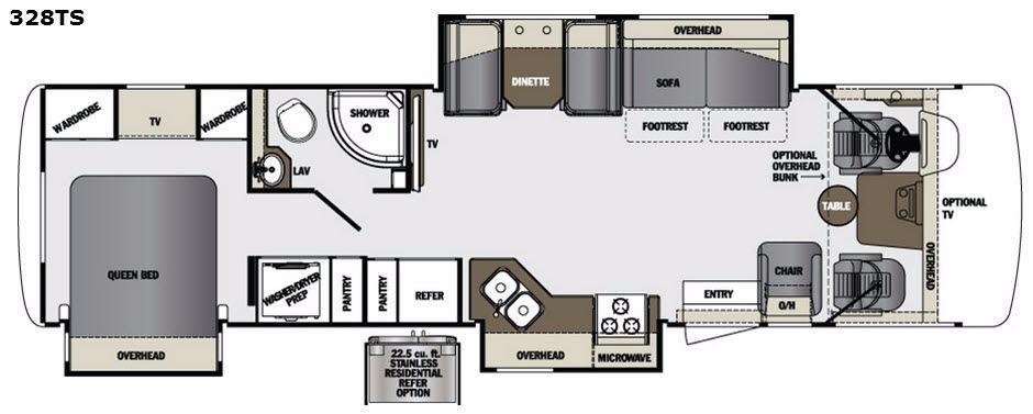 Georgetown 328TS Floorplan Image