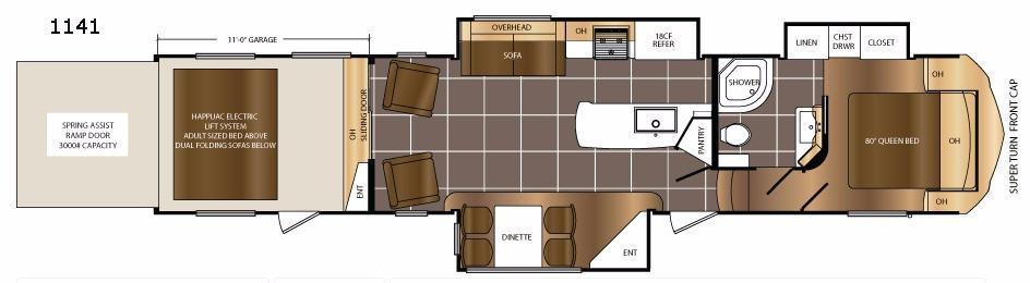 Spartan 1141 Floorplan Image
