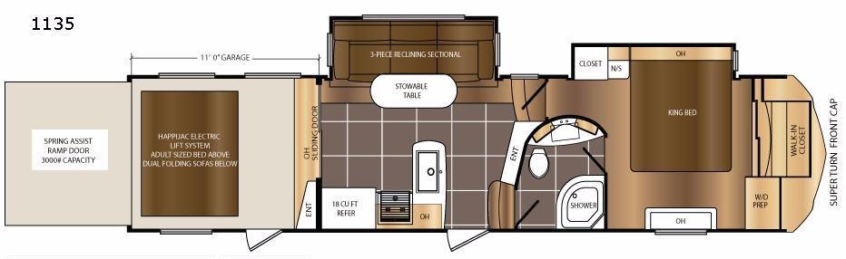 Spartan 1135 Floorplan Image