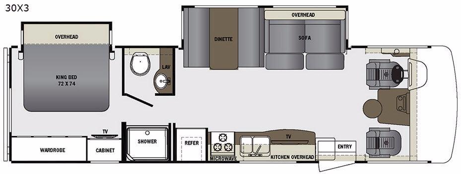 Georgetown 3 Series 30X3 Floorplan Image